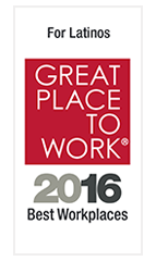 Best Workplaces For Latinos 2016 - Ranked #3