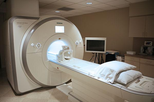 magnetic resonance angiography machine