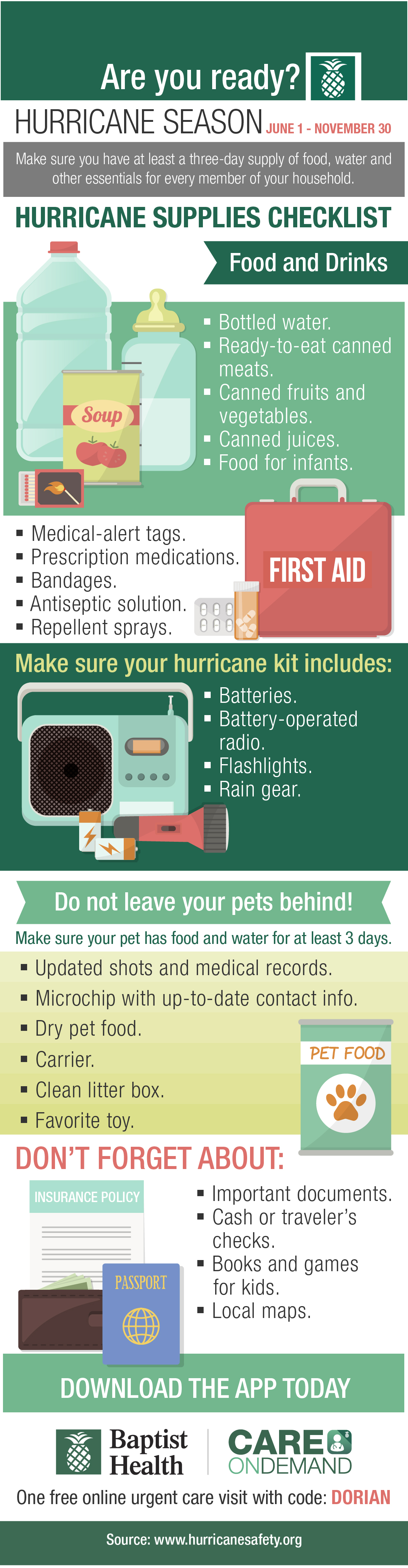 Hurricane Preparedness: Here's What You Need to be Ready