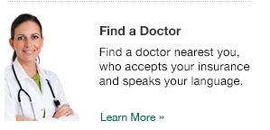 Find a doctor